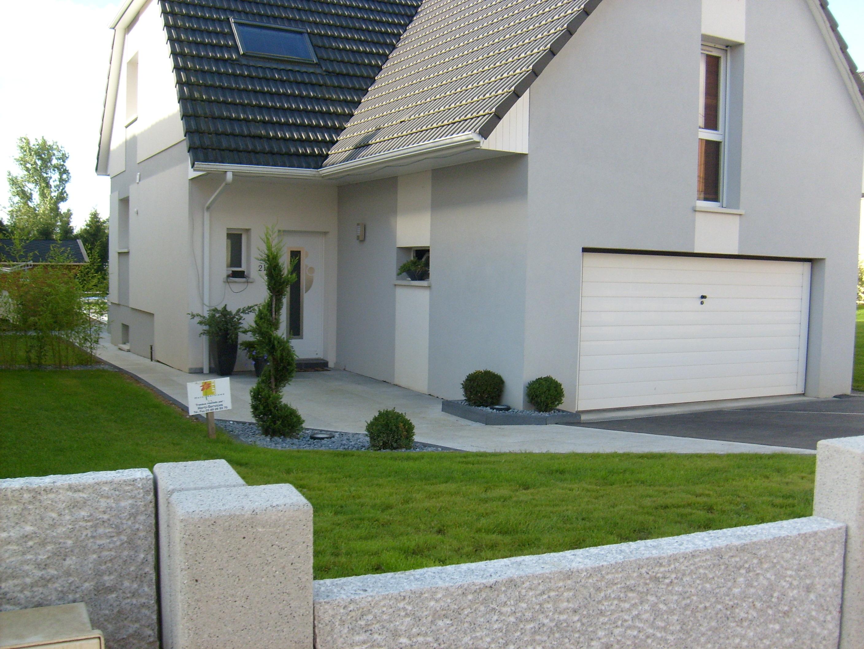 Entr e et jardin jfb horti services - Contour de porte exterieur ...